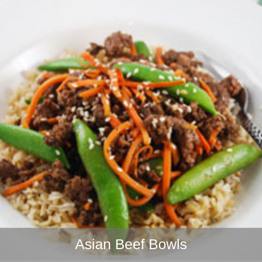Asian Beef Bowls