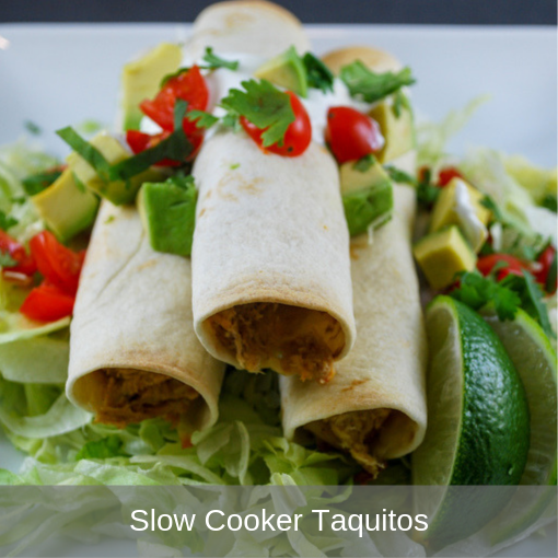 Slow Cooker Taquitos